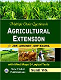 Multiple Choice Question in Agricultural Extension for JRF ARS SRF NET Examns Mind Maps and Logical Tests 2ndedn