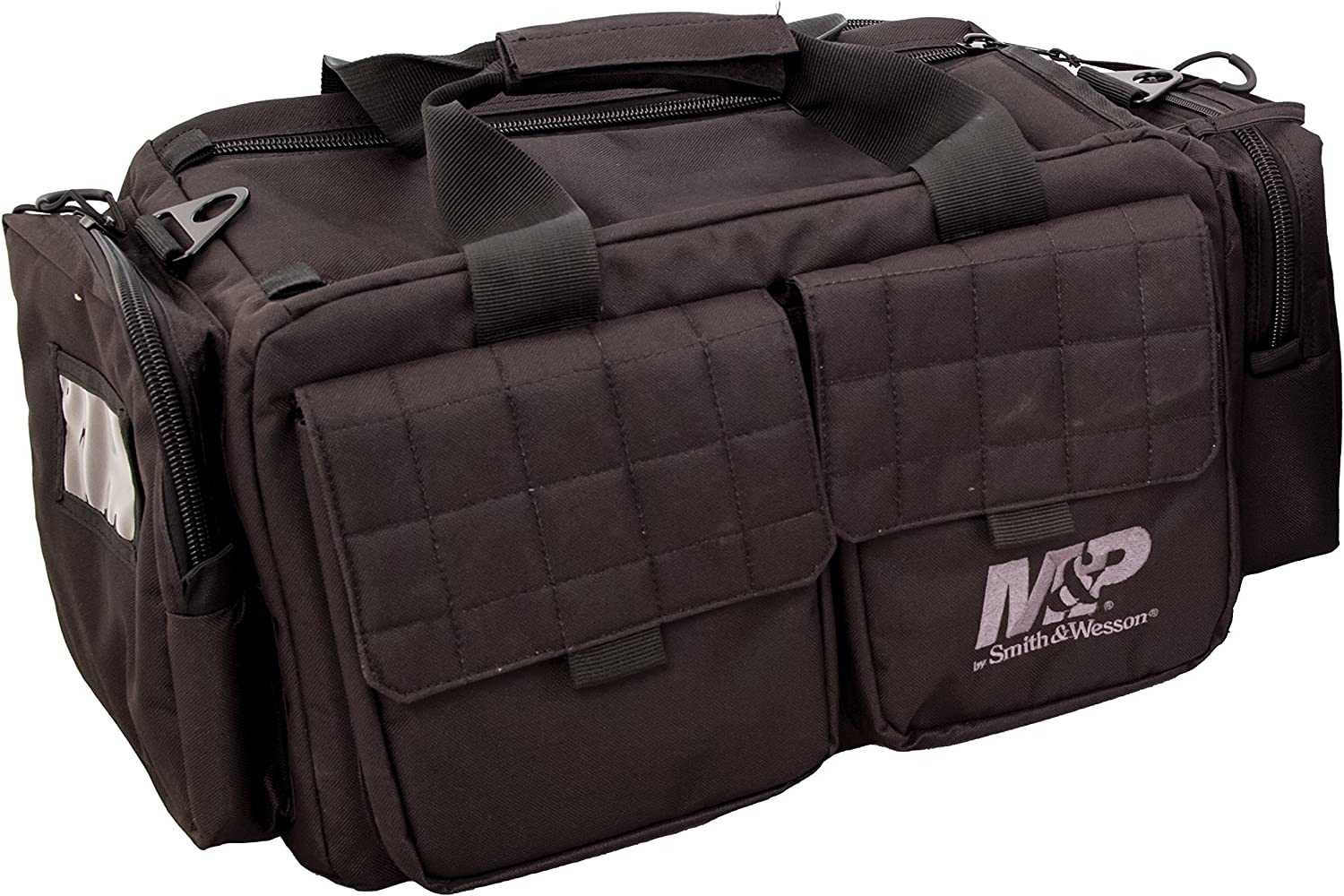 Smith Wesson M P Officer Tactical Range Bag with Weather Resistant Material for Shooting, Range, Storage and Transport
