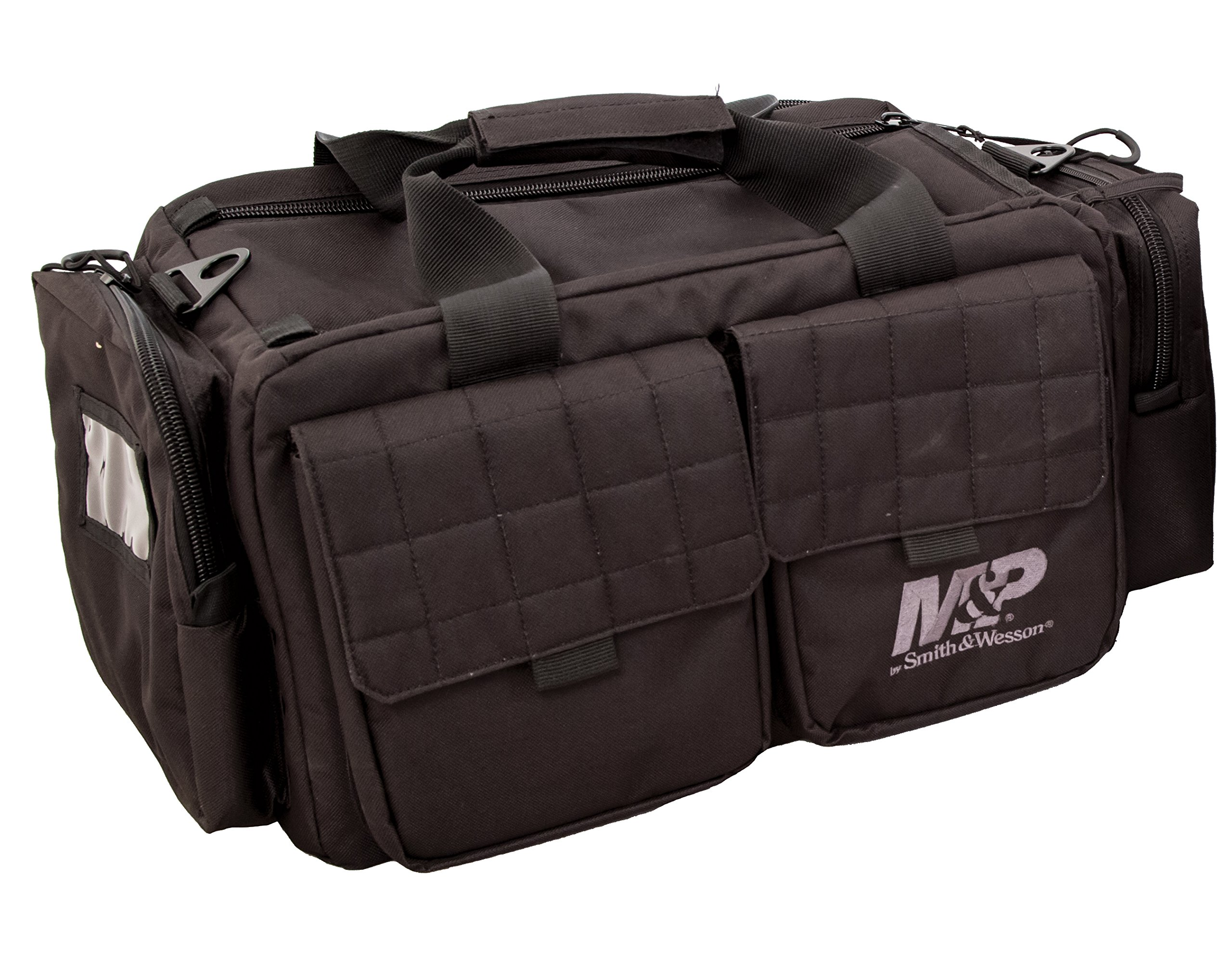Smith & Wesson M&P MP Officer Tactical Range Bag with Weather Resistant Material for Gun Pistol Shooting Ammo Accessories and Hunting