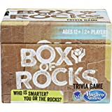 Hasbro Box of Rocks Trivia Game, Ages 12 and up