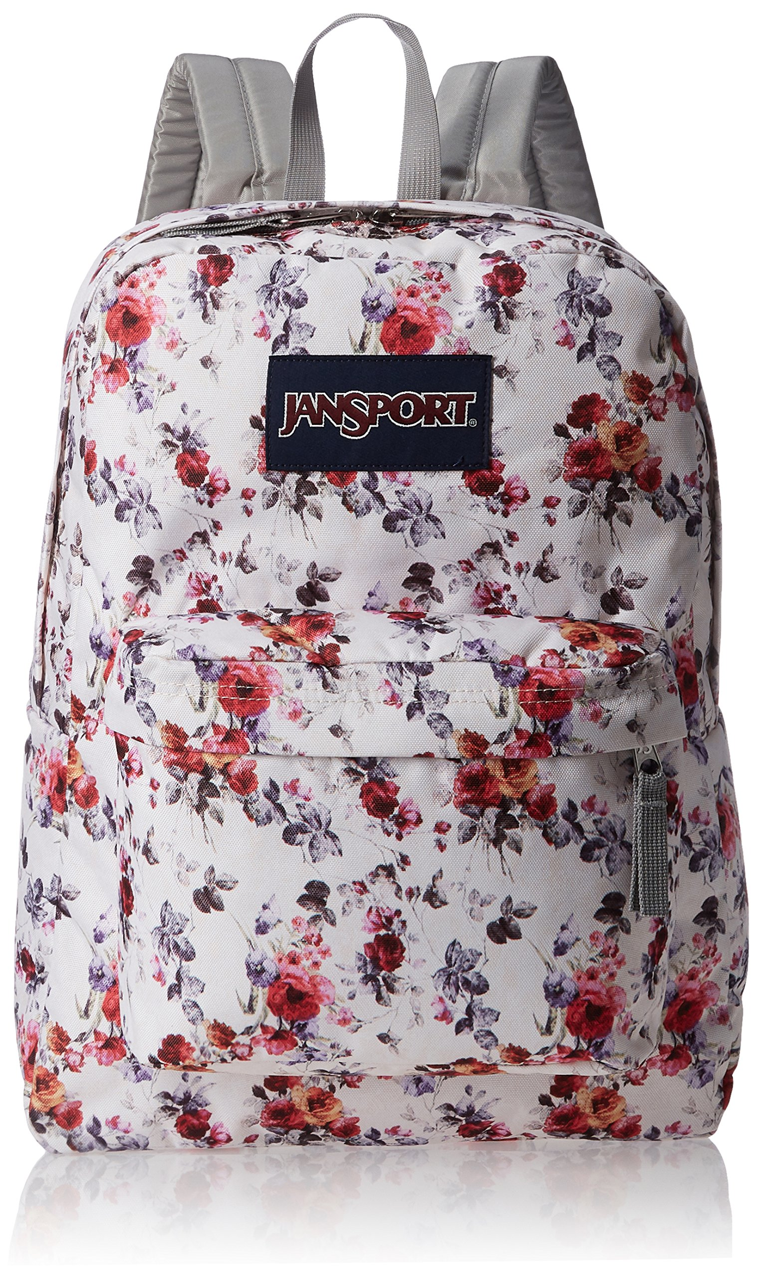 JanSport Superbreak Backpack- Sale Colors (Floral Memory),One Size