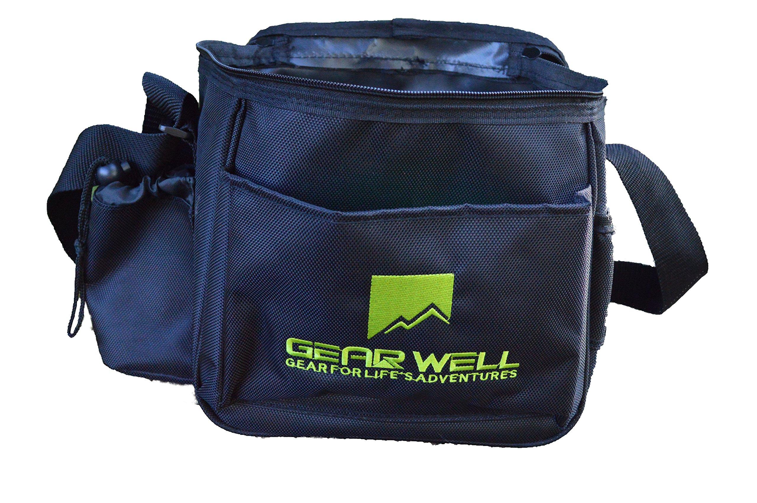Gear Well Approach Light Disc Golf Bag