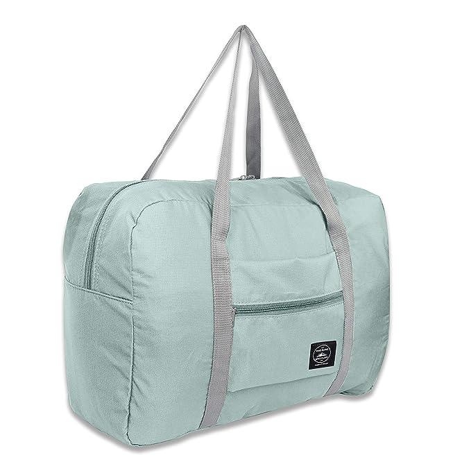 Amazon.com: Bolsa de lona plegable para viajes: Clothing