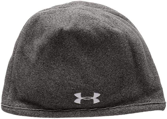 9725300002780 Amazon.com  Under Armour Men s Fleece Beanie Update Black Steel Hat ...