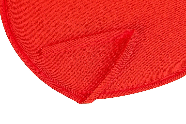 Anjosa 1-Al21/-/Cuscino Rotondo Rosso Corallo