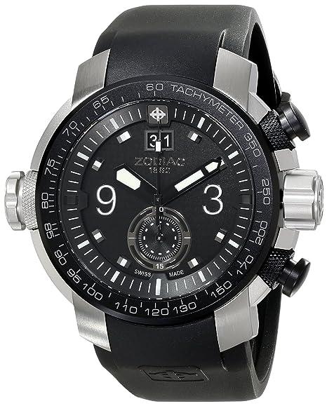 """Zodiac ZMX hombre ZO8524 """"special ops"""" reloj de acero inoxidable con ..."""