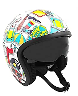 KEN ROD Origine Sprint | Casco Moto Origine | Casco para Moto | Jet Casco Sprint