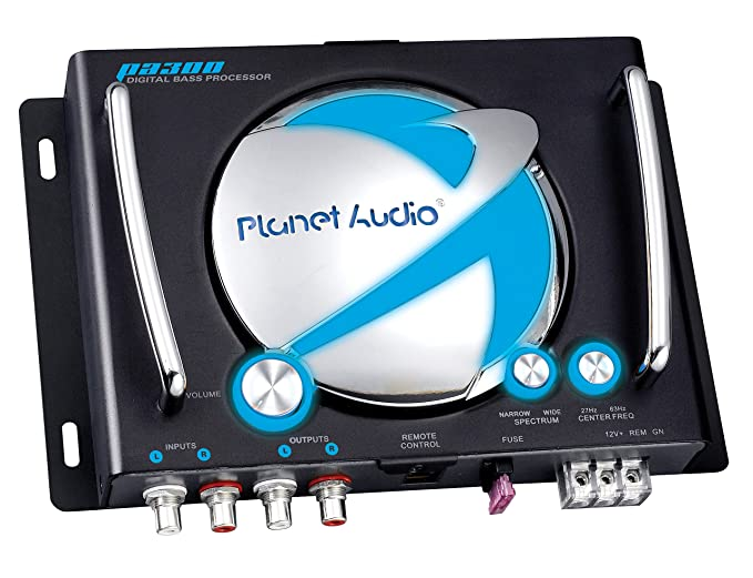 Amazon.com: Planet Audio PA300 Digital Bass Processor With Remote ...