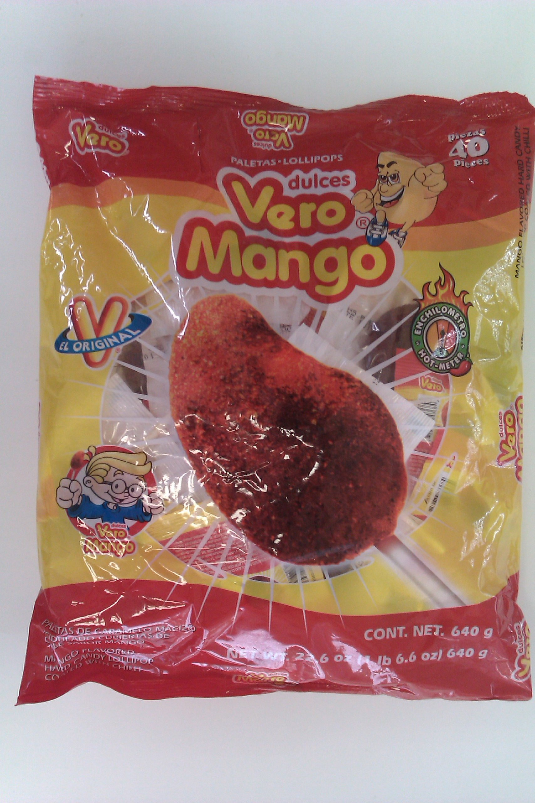 Vero Mango Paleta - 40 Pcs