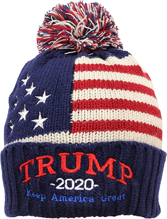 Donald Trump Politician America Donald Election Knit Winter Hats for Women Knitted Beanie Men Beanie Cap Hat Womens Knit Hat 3D Printed Adult Comfortbale Soft