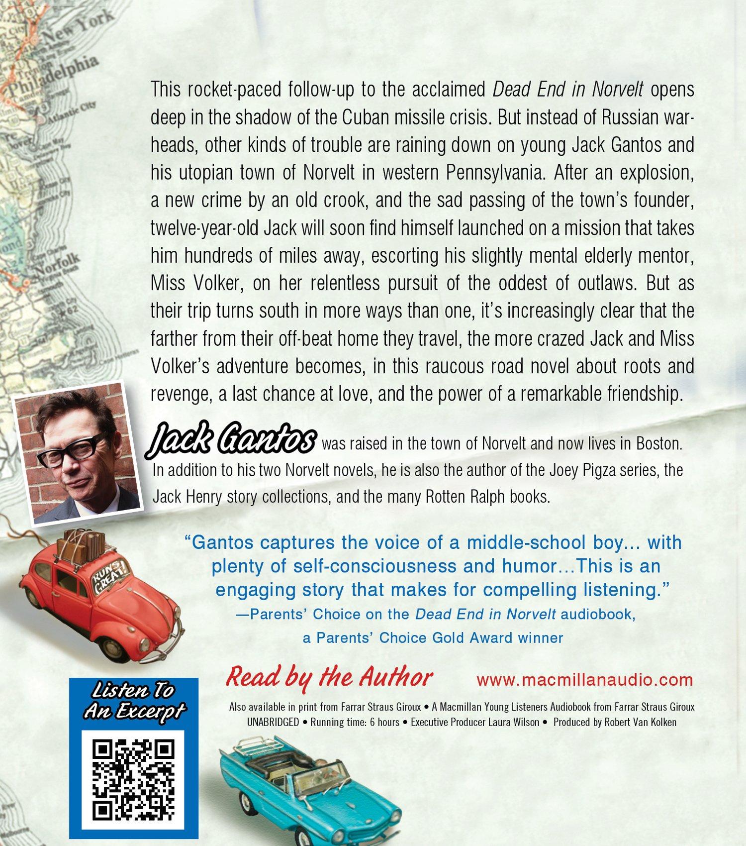 From Norvelt To Nowhere (norvelt Series): Jack Gantos: 9781427233134:  Amazon: Books