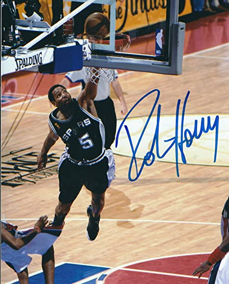 8307b702 Autographed Robert Horry 8x10 San Antonio Spurs Photo at Amazon's Sports  Collectibles Store
