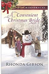 A Convenient Christmas Bride (Love Inspired Historical) Kindle Edition