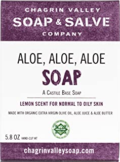 product image for Organic Natural Soap Bar, Aloe Aloe Aloe, Chagrin Valley Soap & Salve