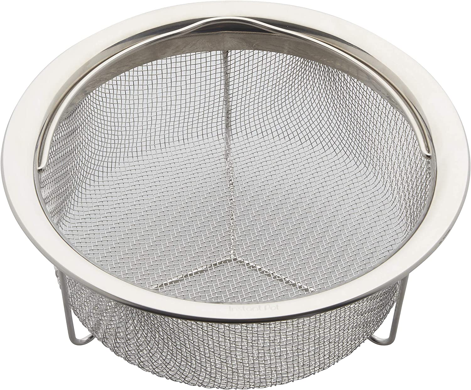 Instant Pot Official Small Mesh Steamer Basket, Stainless Steel