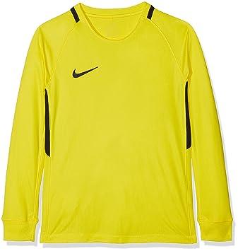 fcd2641b14c NIKE Park Goalie III Jersey Junior Size MB Opti Yellow Black ...