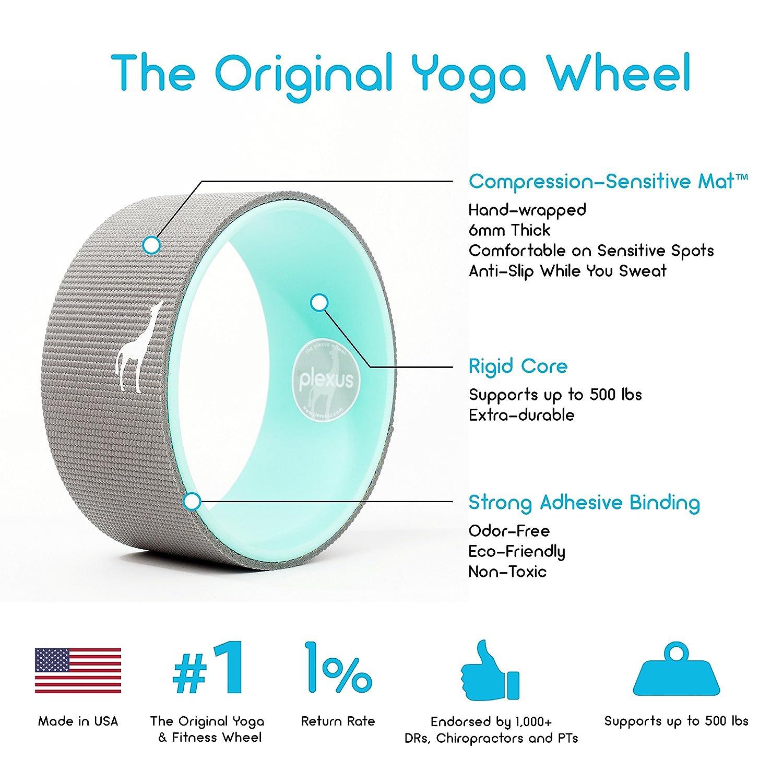 Amazon.com : Plexus Wheel - YOGA PRO SERIES - Only Yoga Wheel Made ...