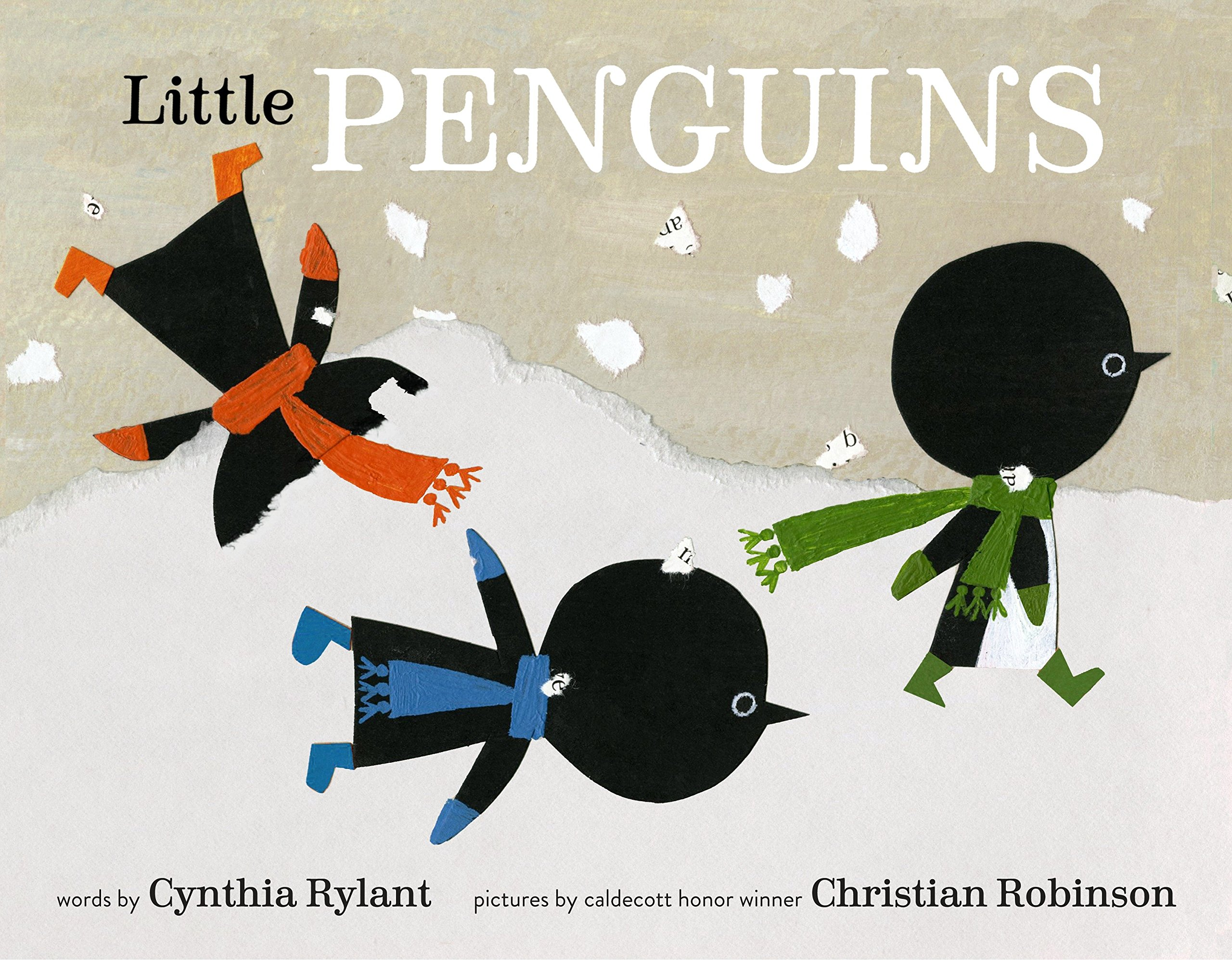 Amazon.com: Little Penguins (9780553507706): Rylant, Cynthia, Robinson, Christian: Books