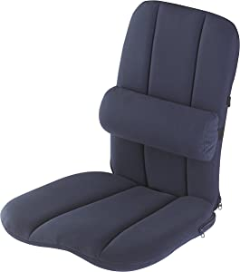 BetterBack ErgoSeat with LumbiPad Jobri BetterBack Seat Cushion Multi-Purpose Seat with Carry Handle…