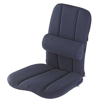 Soutien Dorsal Ergonomique De Dos Avec Coussin Lombaire Portable Pour Chaise Convient Le