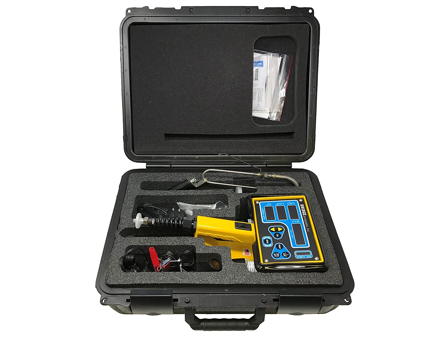 5 Gas (CO, HC, CO2, O2, NOx) Exhaust Gas Analyzer: Amazon.com: Industrial & Scientific