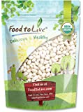 Food to Live Certified Organic Navy Beans (Dry White Small Kidney Pea Beans, Non-GMO, Bulk) (3 Pounds)