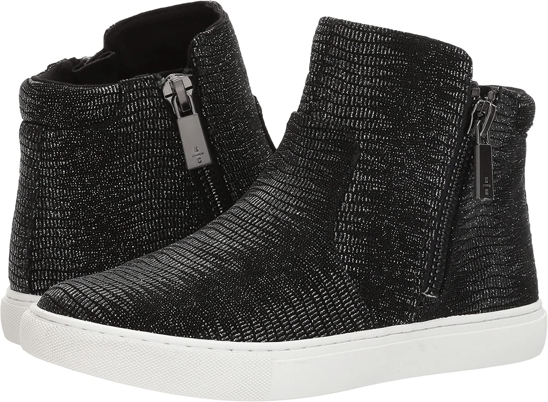 Kenneth Cole New York Women's Kiera Fashion Sneaker B0754KXGF4 7 B(M) US|Pewter Embossed