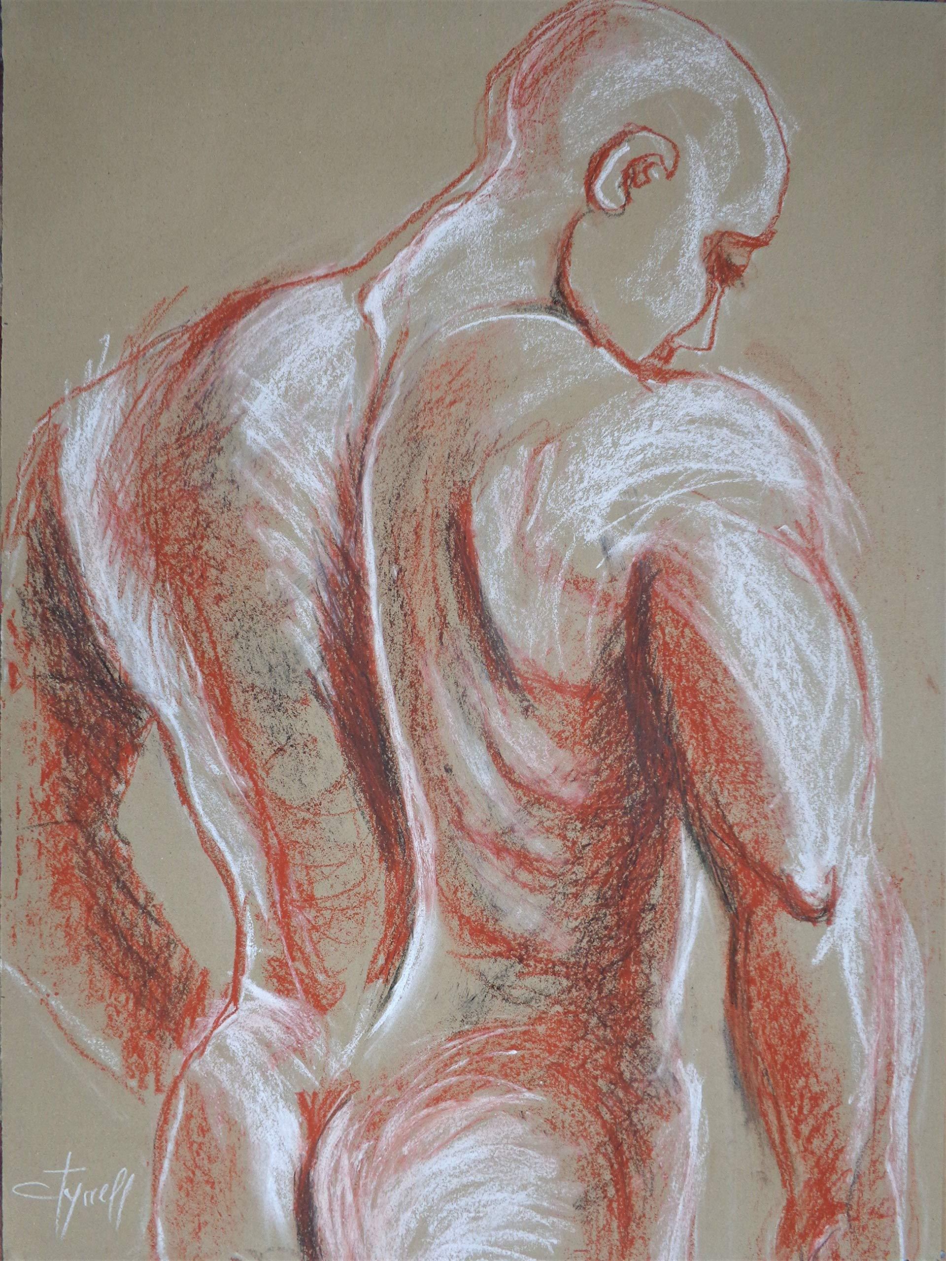Man Nude Figure 4 by
