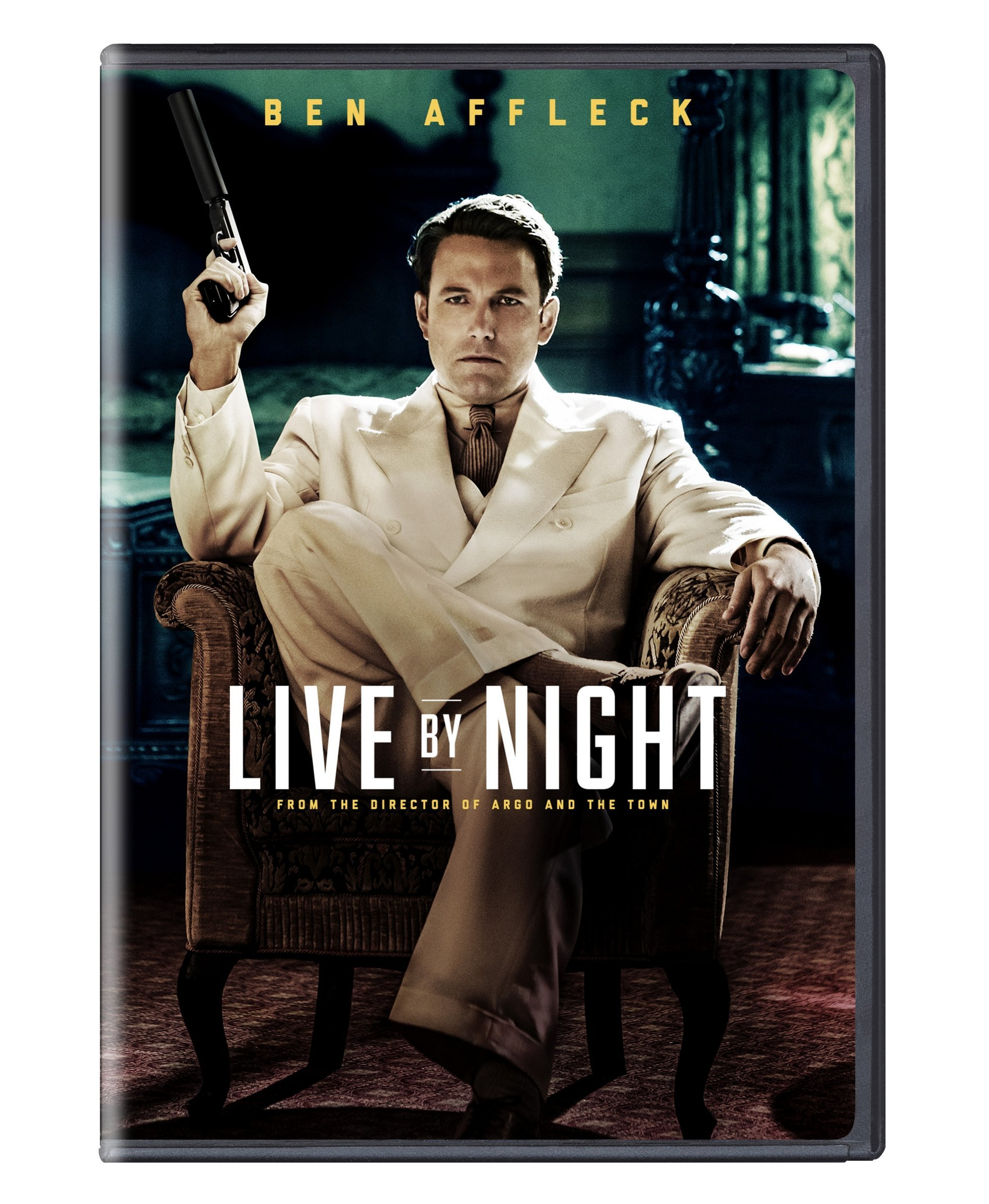 DVD : Live by Night (Eco Amaray Case)