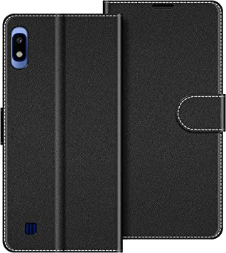 COODIO Funda Samsung Galaxy A10 con Tapa, Funda Movil Samsung A10 ...