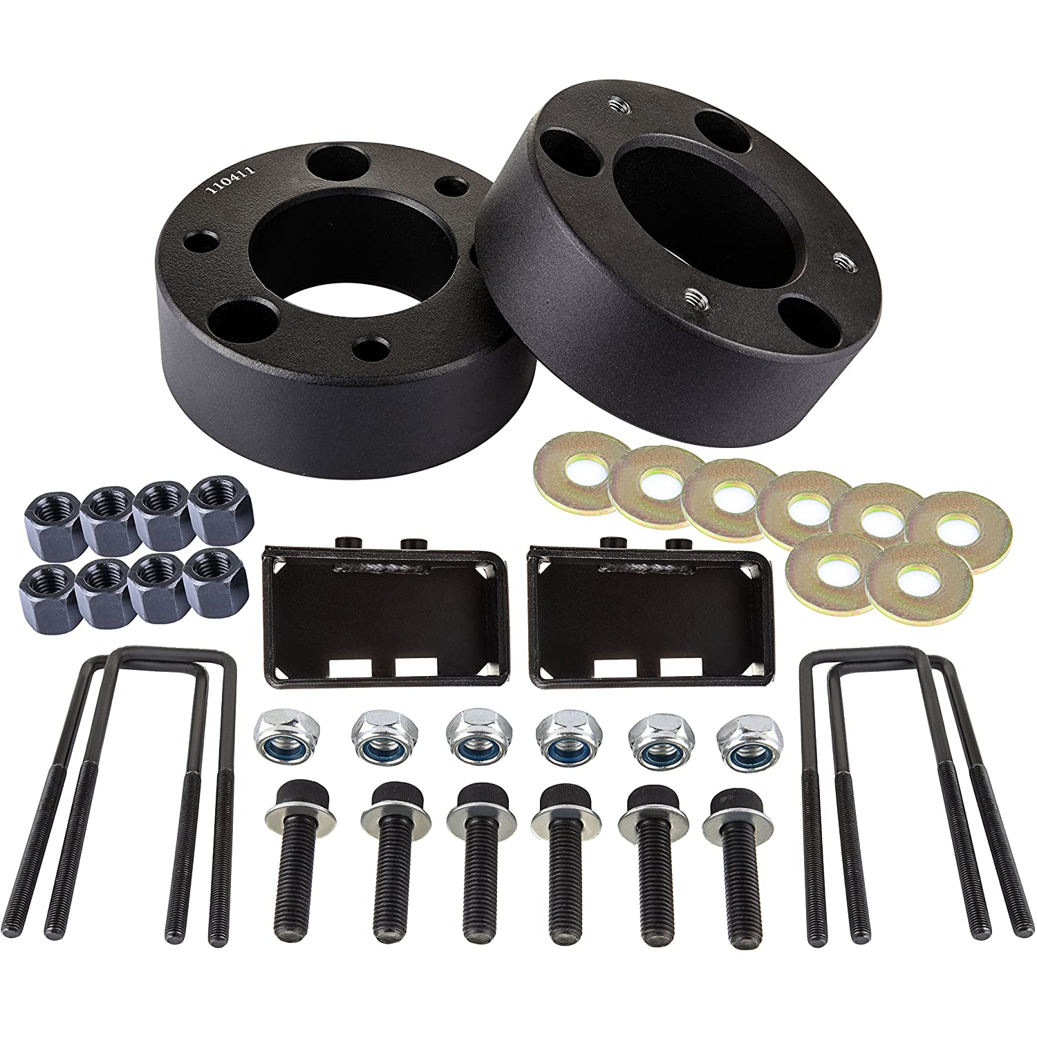 ECCPP 3 inch leveling lift kit and 2 inch leveling lift kit Strut Spacers, Raise your vehicle 3' Front and 2' Rear for 2004-2014 Ford F150 4WD 2WD Raise your vehicle 3 Front and 2 Rear for 2004-2014 Ford F150 4WD 2WD BHBS0405A1446