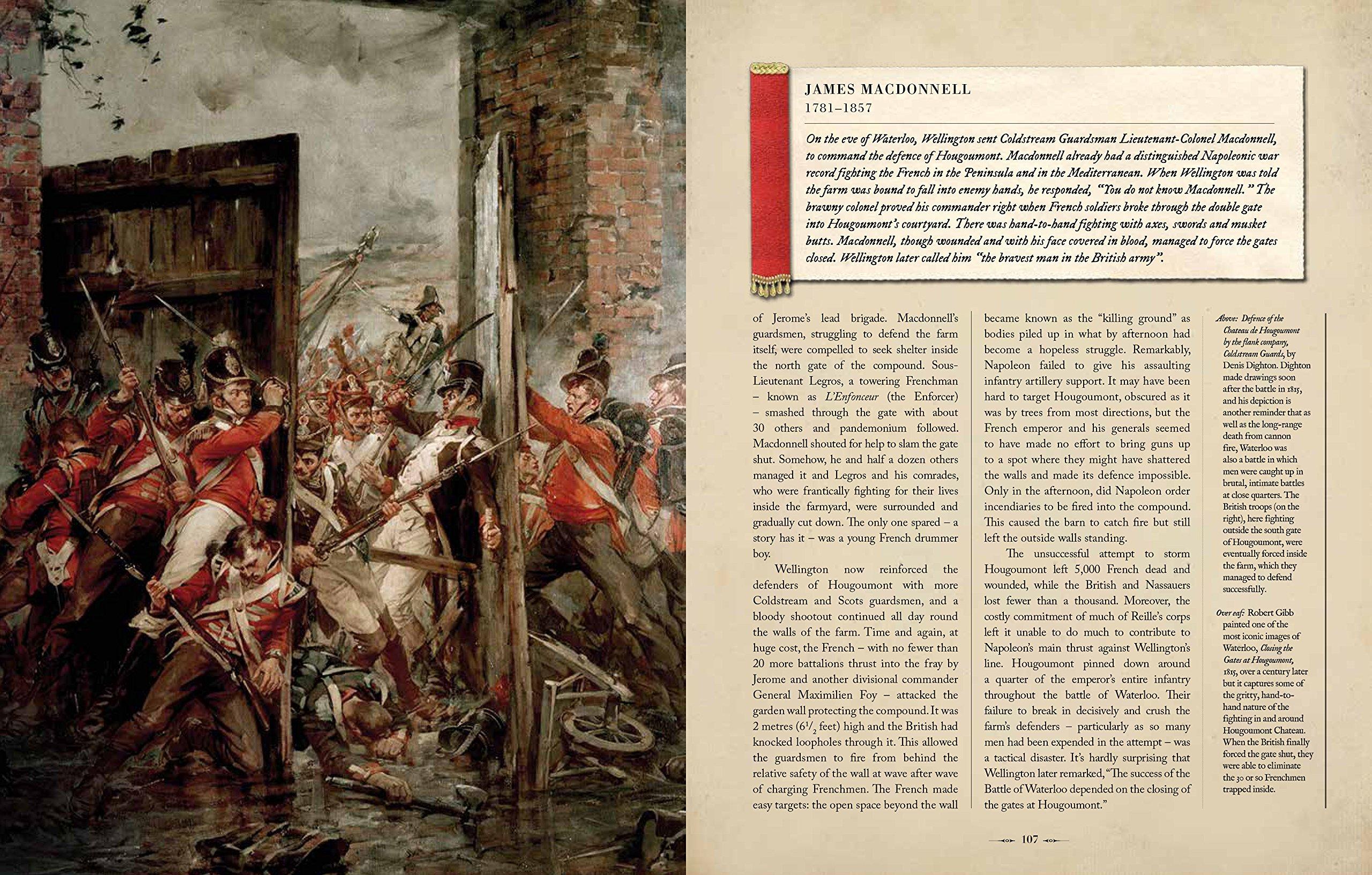 The Battle of Waterloo Amazon Peter Snow Dan Snow