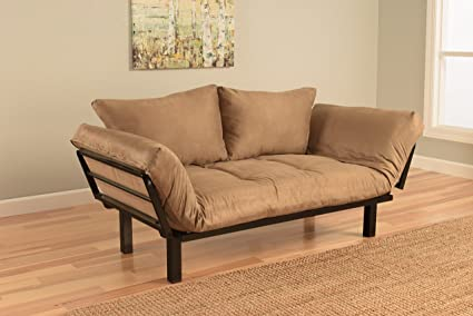 Superbe Best Futon Lounger Sit Lounge Sleep Smaller Size Furniture Is Perfect For  College Dorm Bedroom Studio
