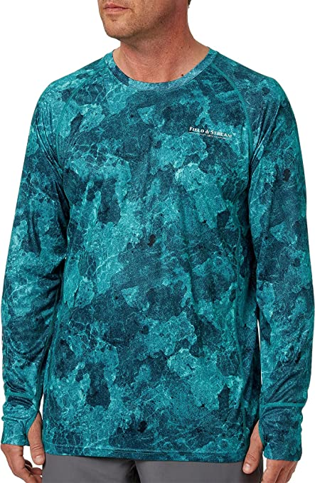 55fed5eb93aeb Amazon.com  Field   Stream Men s Evershade Tech T-Shirt  Sports ...
