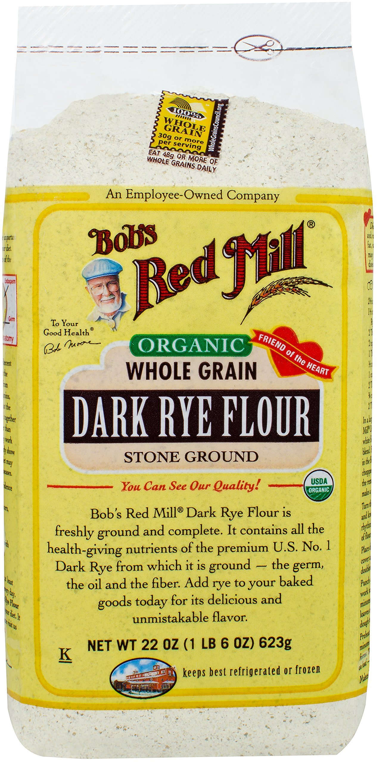 Bob's Red Mill Dark Rye Flour, 22 oz