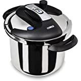 Tower Pro One Touch Pressure Cooker, 6 L, Stainess Steel