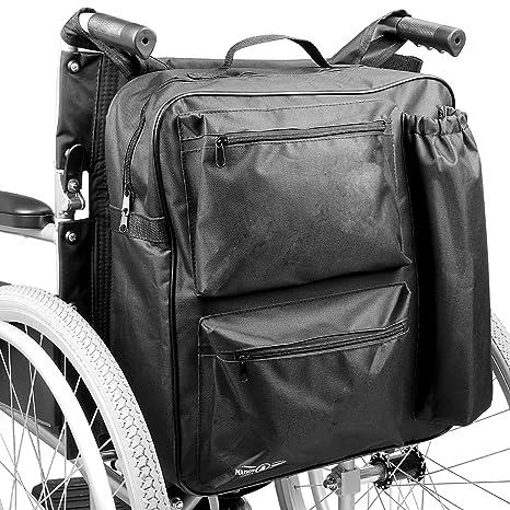 Bolsa de ruedas multifunción | Mochila universal Scooter de movilidad | Acolchado Trasero Multi - Bolsillo Almacenamiento de alta calidad impermeable ...