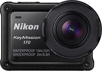 Nikon KeyMission 170 4K Action Camera with Built-In Wi-Fi