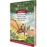 Magic Tree House Boxed Set, Books 1-4: Dinosaurs Before Dark, The Knight at Dawn, Mummies in the Morning, and Pirates Past No