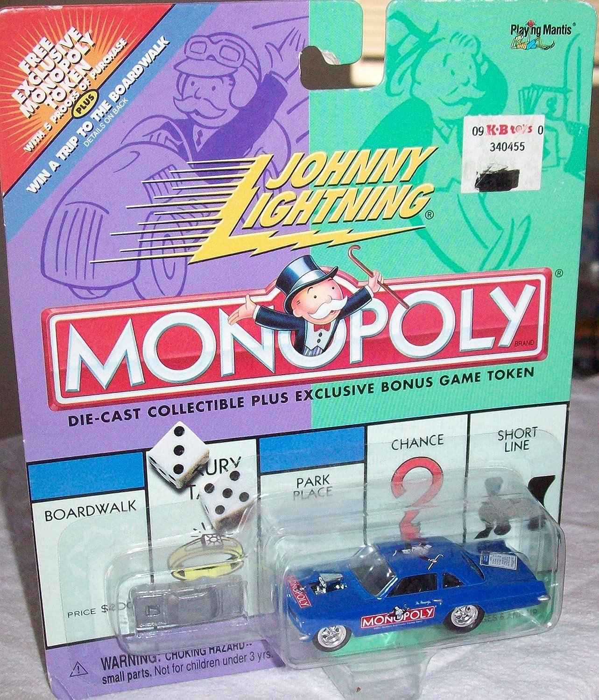 Johnny Lightning MONOPOLY Park Place Pontiac Tempest