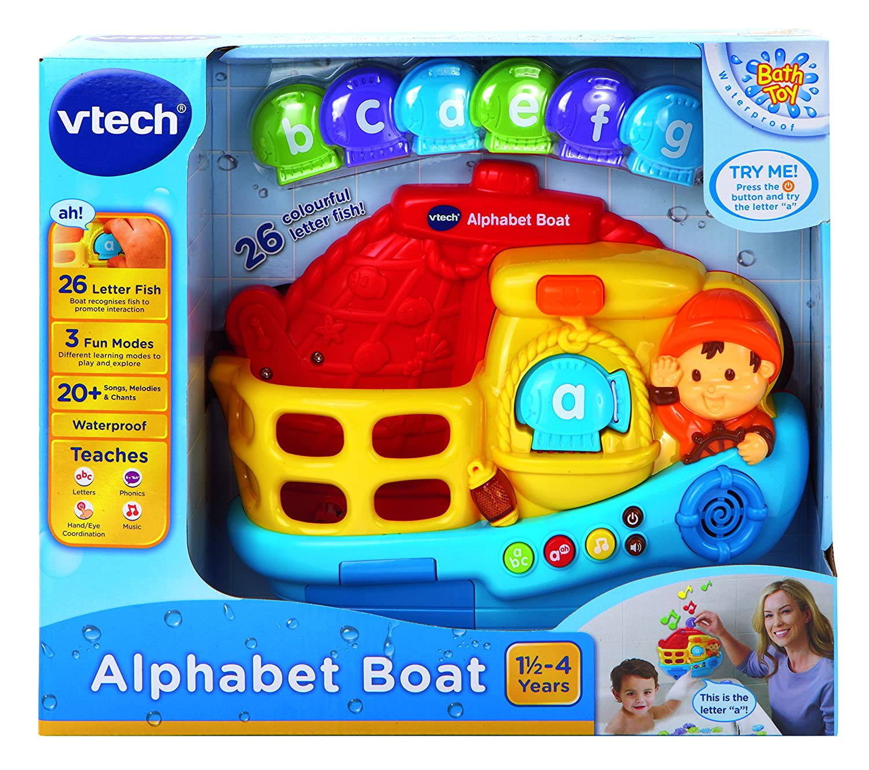 VTech Baby Alphabet Boat Bath Toy Amazon Toys & Games