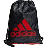 Amazon.com: adidas Shermer Sling Backpack, Black/Solar ...