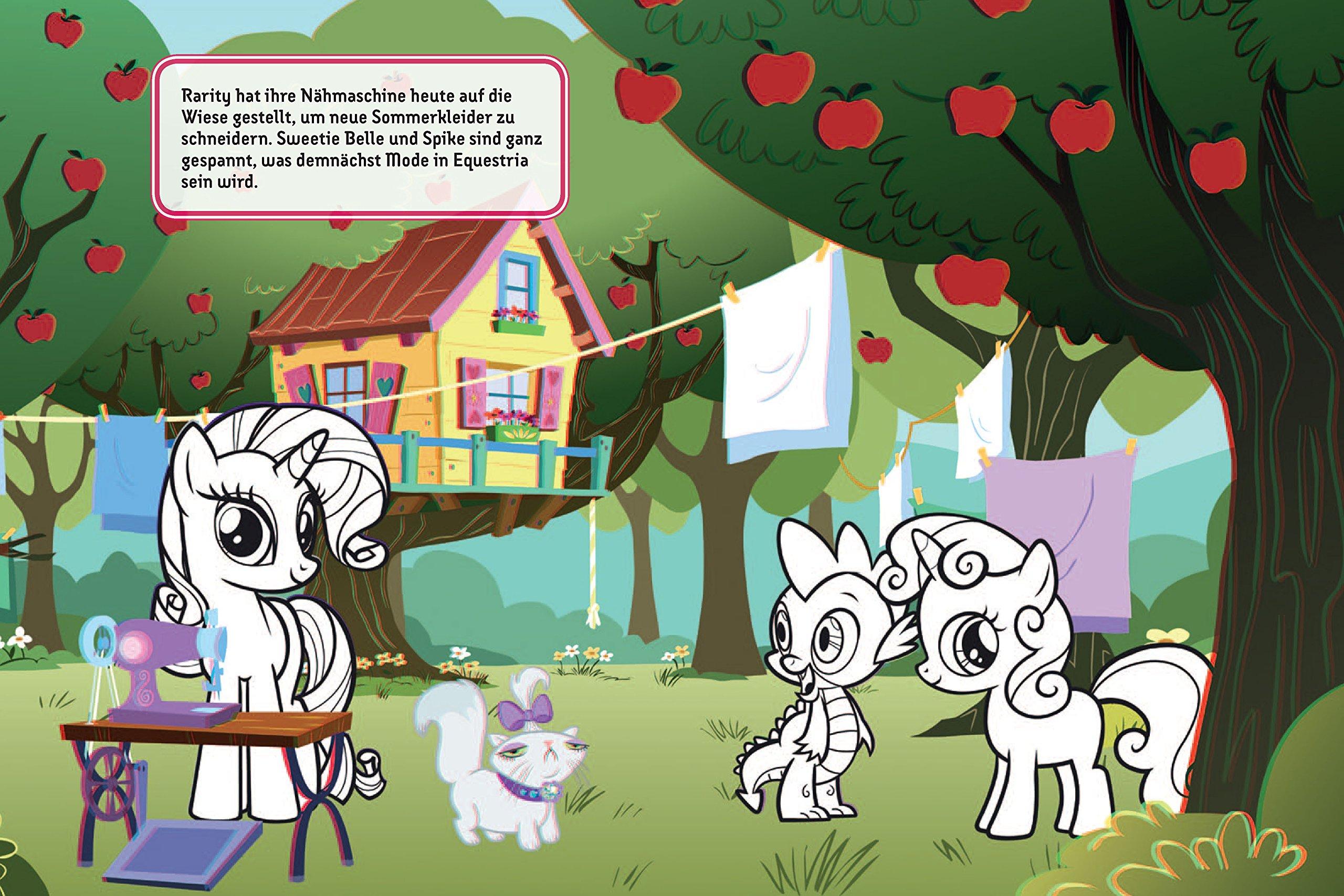 Mein 28D-Malbuch - My Little Pony: Ausmalen, Brille aufsetzen