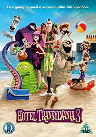 Hotel Transylvania 3 DVD 2018