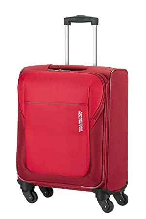 f68c023297f American Tourister Koffer, 55 cm, 37.5 Liters, Rot: Amazon.de ...