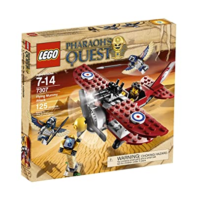 LEGO 7307 Pharaoh's Quest Flying Mummy Attack: Toys & Games