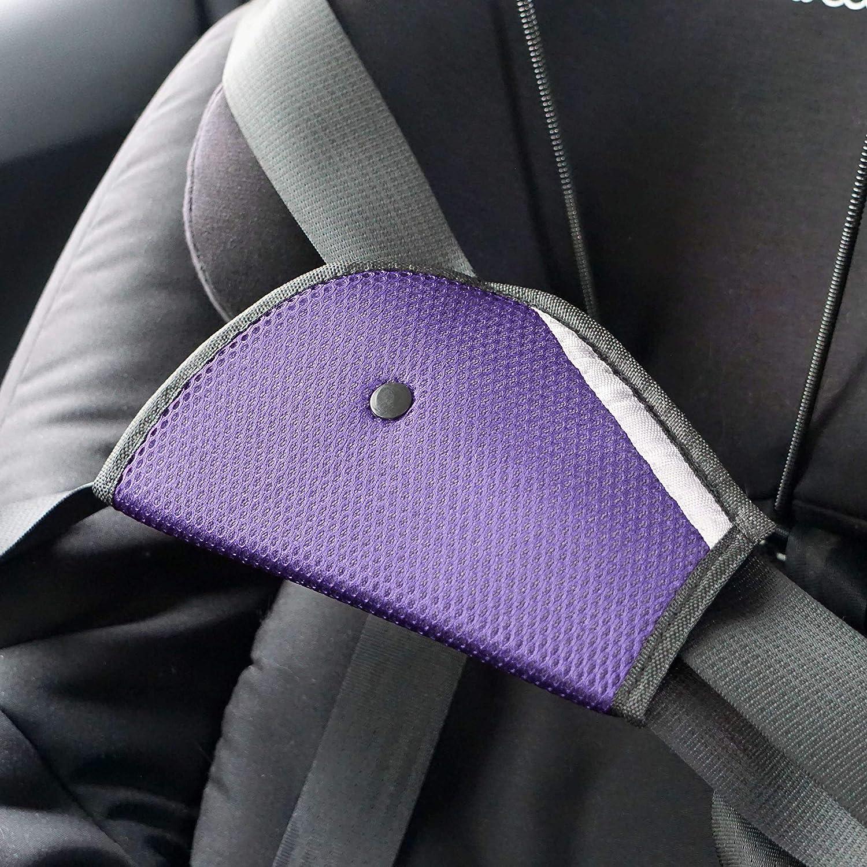 Beige Schadstofffrei Baby Gurtschoner LetiStore Kinder Gurtpolster Auto Sicherheitsgurt Polster Gurt Schutz