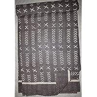 Tribal Asian Textiles Indian Kantha Quilt Vintage Throw Handmade Cotton Blanket Hand Block Print India