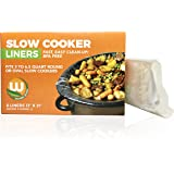 """Premium Slow Cooker Crock Pot Liners - 1 Box of 8 Thicker than leading brand Kosher BPA Free, up to 6.5 Quart 13"""" x 21"""" inches Made in the USA! …"""