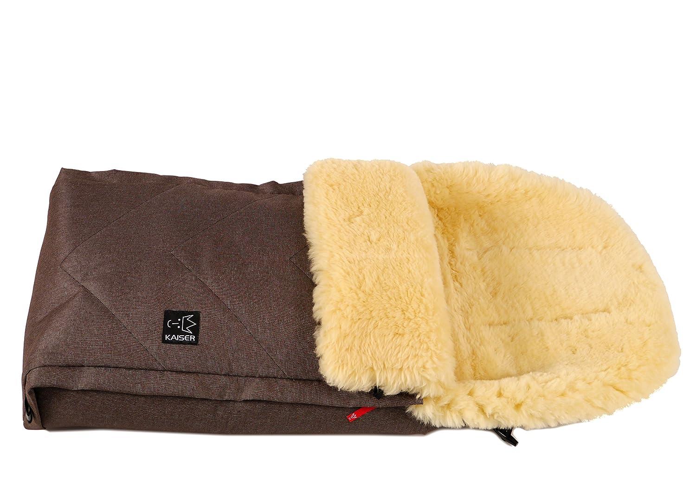 Brown Melange, 6510375 /Saco de abrigo multifunci/ón Kaiser Dublas/ dise/ño con piel de cordero.